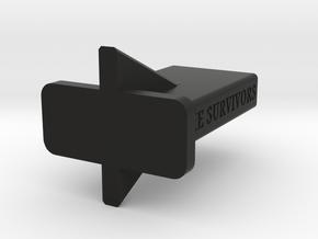 ar 15 stand (airsoft) in Black Natural Versatile Plastic