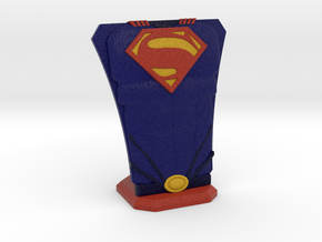 Superman Hero Stand in Full Color Sandstone