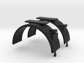 Unimog Kotflügel Hinten Schuco in Black Natural Versatile Plastic