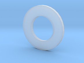 Coin Adapters 21mm to 39mm in Smooth Fine Detail Plastic