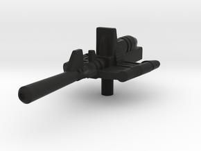 Silverbolt Combiner Wars gun in Black Natural Versatile Plastic