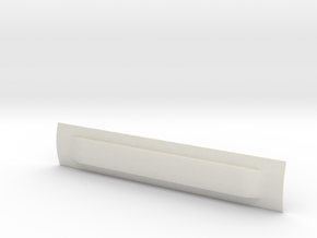 Sn3 SPC Coach 42 Roof in White Natural Versatile Plastic