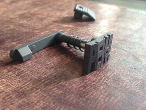 PEW! Mag Release Catch for M4 & M16 Series AEGs in Black Natural Versatile Plastic