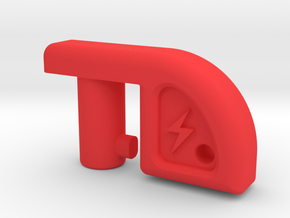 Low Profile Battery Isolator / Cutout Key in Red Processed Versatile Plastic