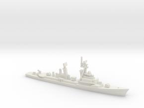 Lütjens-class destroyer (1995), 1/1800 in White Natural Versatile Plastic