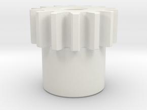 Gear2_48_14_0313_332 in White Natural Versatile Plastic