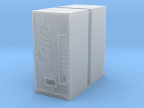 COKE VENDING MACHINES X2 in Smooth Fine Detail Plastic