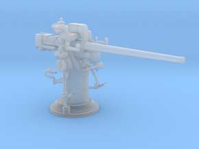 1/72 USN 3 inch 50 cal USN Deck Gun in Smooth Fine Detail Plastic