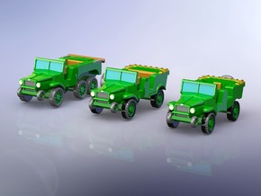 Laffly V15T V15R W15T Trucks 1/144 in Frosted Ultra Detail