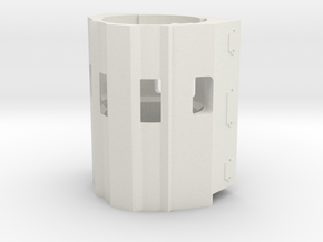 scale 350 engine - Scale 350 Block-1 in White Natural Versatile Plastic