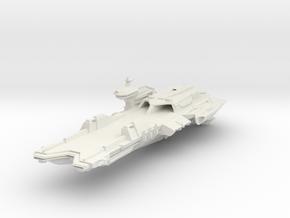 "Carrier II 12"" in White Natural Versatile Plastic"