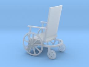 1:72 Vintage Wheelchair in Smooth Fine Detail Plastic