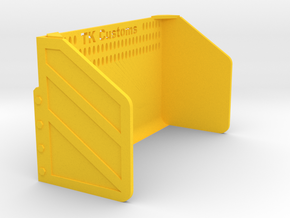 1:32 Schiebe-Schild in Yellow Processed Versatile Plastic: 1:32