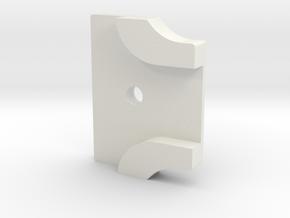 Styrstopp RG BK1R Mode 2: 14 grader in White Natural Versatile Plastic