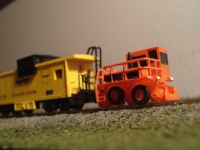 RailKing RK275 Rail Car Mover - N Scale in Smooth Fine Detail Plastic