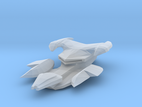Jem'hadar SuperCarrier-class Warship 75mm in Frosted Ultra Detail