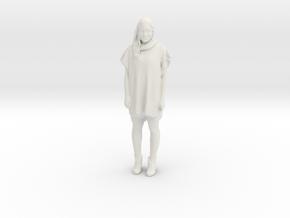 Printle F Victoria Abril - 1/18 - wob in White Natural Versatile Plastic