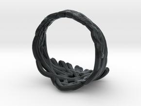 Cersei's Crown Ring in Black Hi-Def Acrylate: 2 / 41.5