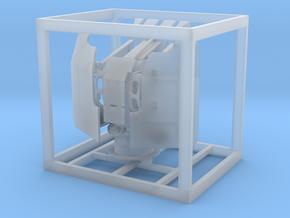 1:100 20mm Vierling mit Öffnung für Messingrohre in Frosted Ultra Detail