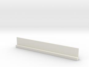 Profil 100mm Waggon-Sitzbank doppelt hoch WSF 1:12 in White Natural Versatile Plastic
