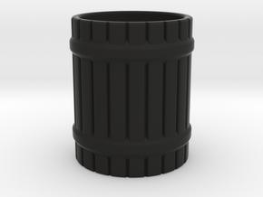 LARP mug in Black Natural Versatile Plastic