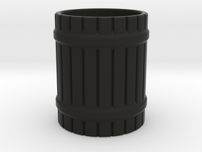 LARP mug in Black Natural Versatile Plastic