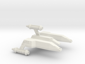 3125 Scale LDR War Cruiser (CW) CVN in White Natural Versatile Plastic