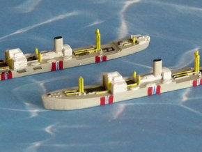 """German Auxiliary Cruiser HSK """"Atlantis"""" 1/2400 in Smooth Fine Detail Plastic"""