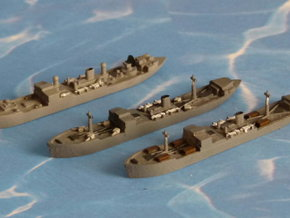 """German Auxiliary Cruiser HSK """"Coronel"""" 1/1800 in Smooth Fine Detail Plastic"""