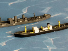 "German Auxiliary Cruiser HSK ""Pinguin"" 1/1800 in Smooth Fine Detail Plastic"