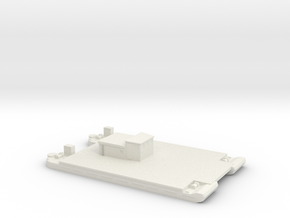 1/600 Siebel Ferry 40 Transport 2 in White Strong & Flexible