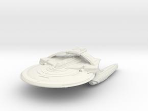 Reliant Refit Class  BattleCruiser in White Natural Versatile Plastic