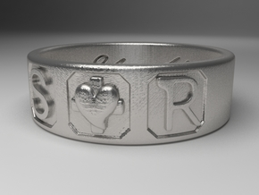 S and R size 10 in Natural Silver