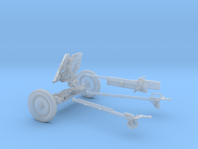 PAK 36 1:30 scale in Smooth Fine Detail Plastic