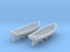 1/350 DKM Boat 8m Long Set in Smooth Fine Detail Plastic