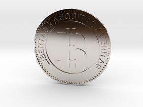 Bitcoin in Platinum