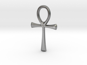 Ankh in Natural Silver