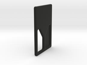SQRD Door M in Black Natural Versatile Plastic