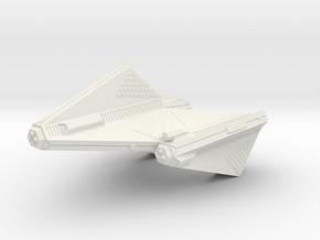 3788 Scale Tholian DPW Dreadnought SRZ in White Natural Versatile Plastic
