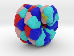 Hyperthermophilic Virus in Full Color Sandstone