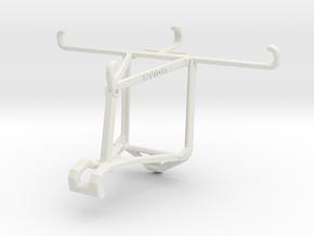 Controller mount for Shield 2017 & Asus Zenfone 3  in White Natural Versatile Plastic