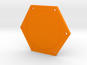 Kossel XL Spulenhalter - Ndo Design in Orange Strong & Flexible Polished