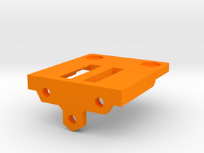 Energiekettenhalter - Hotend - Ndo Design in Orange Processed Versatile Plastic