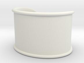Cosplay Cuff in White Natural Versatile Plastic