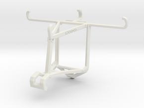 Controller mount for Shield 2017 & Lava X46 - Top in White Natural Versatile Plastic