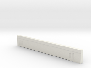 Triple Underpass West Side North Span in White Natural Versatile Plastic