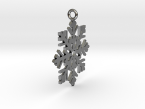Snow Fall in Polished Silver