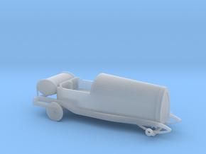 Bugatti Type 13 - 1/87 H0 in Smooth Fine Detail Plastic
