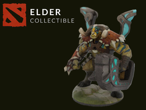 Elder Titan in Full Color Sandstone