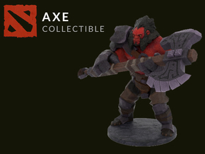 Axe in Full Color Sandstone: Extra Small